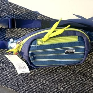 youth blue Small fanny Pack brand new with tags